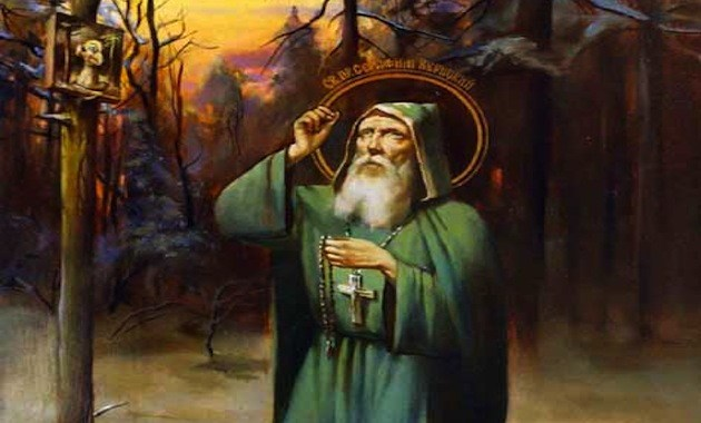 Η προφητεία του Αγίου Σεραφείμ της Βίριτσα