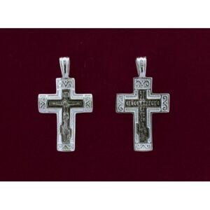 Ασημένιος σταυρός 9250-A