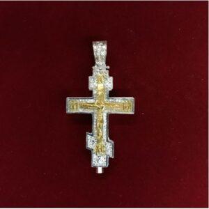 Ασημένιος σταυρός SAROF2-X