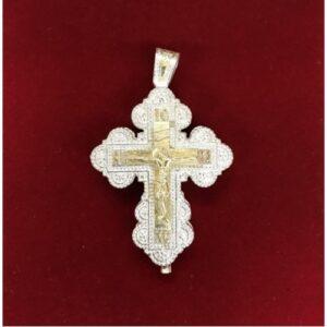 Ασημένιος σταυρός B4-X