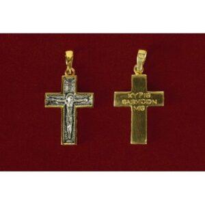 Ασημένιος σταυρός 9101-X