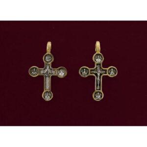 Ασημένιος σταυρός 9256-X