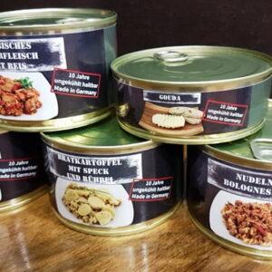 Τρόφιμα Επιβίωσης σε Κονσέρβα. Προσφορά πέντε τεμαχίων