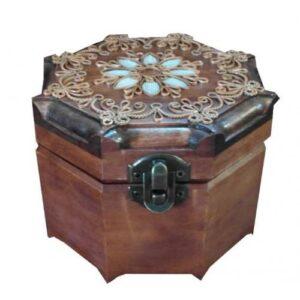 Ξύλινο Κουτί Οκτάπλευρο