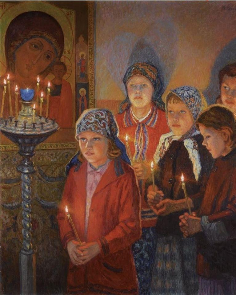 Οι κόρες της Παναγίας…