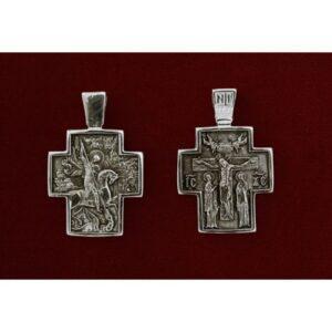 Σταυρός με Άγιο Γεώργιο 9314-A