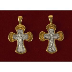 Ασημένιος σταυρός 9267-X