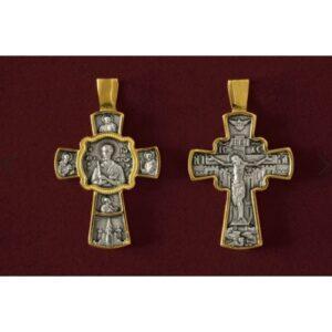 Σταυρός με τον Άγιο Ιωάννη τον Ρώσο