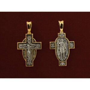 Σταυρός με Αρχάγγελο Μιχαήλ -Χ