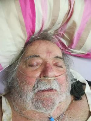 Εμφάνιση του Τιμίου Σταυρού στο μέτωπο ασθενή λίγες μέρες πριν αφήσει την τελευταία του πνοή!