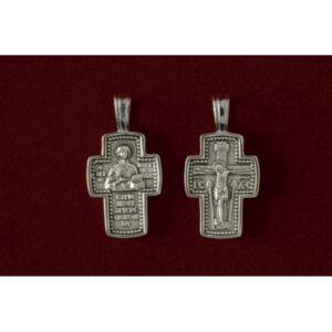 Σταυρός με Άγιο Παντελεήμων 9317-Α