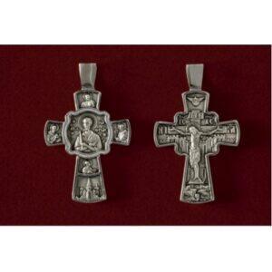 Σταυρός με Άγιο Ιωάννη τον Ρώσο