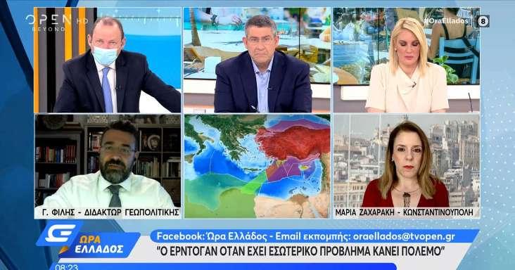 Γιώργος Φίλης: Ο Ερντογάν όταν έχει εσωτερικό πρόβλημα κάνει πόλεμο
