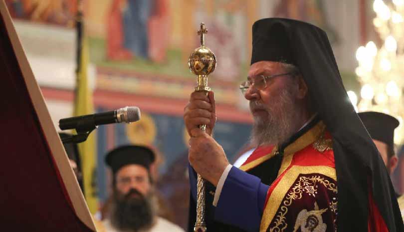 Μιμείται τους δικτατορίσκους πολιτικάντηδες ο Κύπρου Χρυσόστομος ,έτσι ειναι ,όταν δεν πιστεύεις σε Ζωντανό Θεό όοολα επιτρέπονται