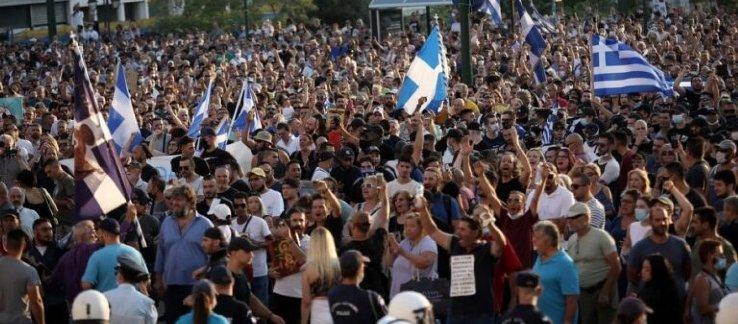 Πανστρατιά! Σε 38 πόλεις της Ελλάδας διαδηλώσεις για την υπεράσπιση των ανθρωπίνων δικαιωμάτων και κατά των αναγκαστικών εμβολιασμών